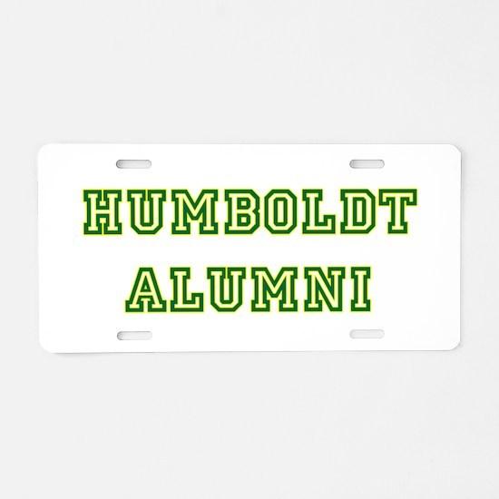 humboldt alumni allstar.png Aluminum License Plate
