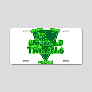 emerald triangle Aluminum License Plate