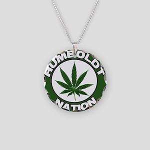 humboldt pot nation Necklace Circle Charm