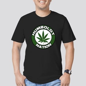 humboldt pot nation Men's Fitted T-Shirt (dark