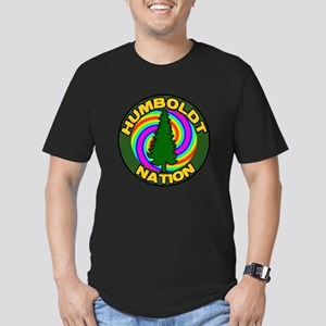 humboldt psychadelic nation Men's Fitted T-Shi