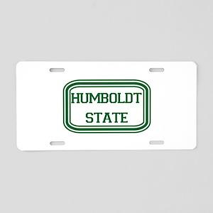 HSU Aluminum License Plate