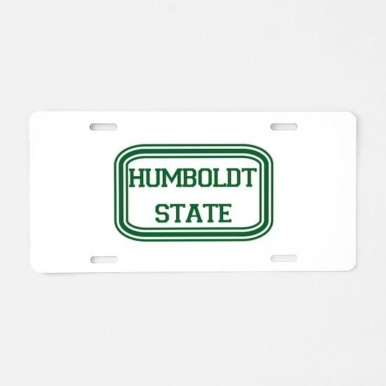 HSU.png Aluminum License Plate