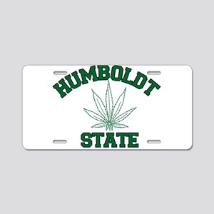 HUMBOLDT POT STATE Aluminum License Plate