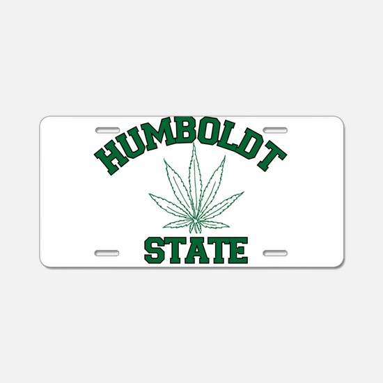 HUMBOLDT POT STATE.png Aluminum License Plate