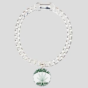 HUMBOLDT POT STATE Charm Bracelet, One Charm