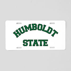 HUMBOLDT STATE Aluminum License Plate