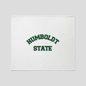 HUMBOLDT STATE Throw Blanket