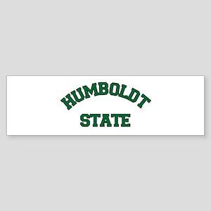 HUMBOLDT STATE Sticker (Bumper)