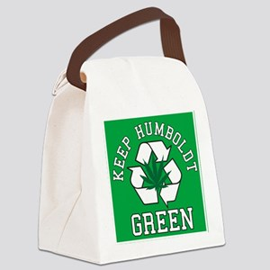 keep humboldt green Canvas Lunch Bag