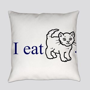 I Eat Pussy Everyday Pillow