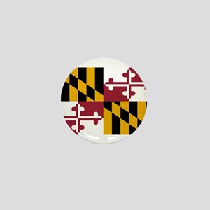 Maryland State Flag Mini Button
