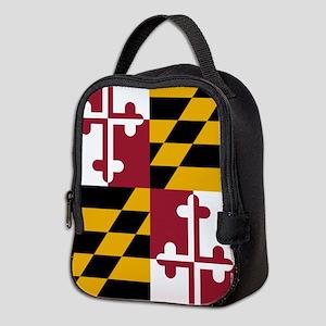 Maryland State Flag Neoprene Lunch Bag
