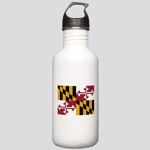 Maryland State Flag Water Bottle