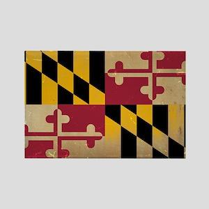 Maryland State Flag VINTAGE Magnets