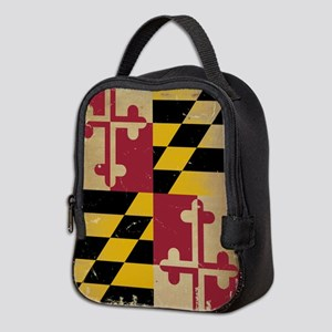 Maryland State Flag Neoprene Lunch Bag