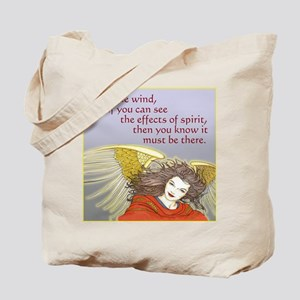 Angel of Invisible Causes - Tote Bag