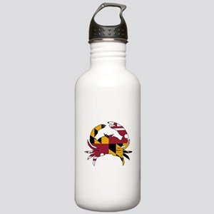 Maryland State Flag Cr Stainless Water Bottle 1.0L