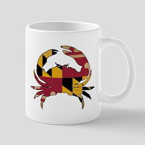 Maryland State Flag Crab Mug