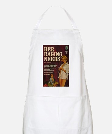 Her Raging Needs BBQ Apron