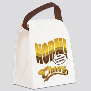 Norm Quote Canvas Lunch Bag