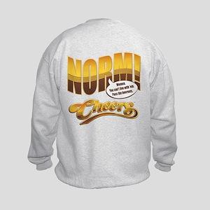 Norm Quote Kids Sweatshirt