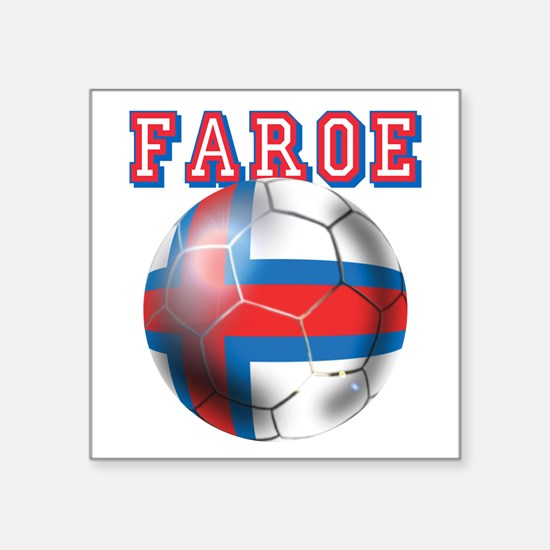Faroe Islands Football Sticker