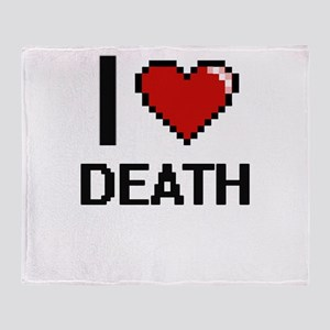 I love Death Throw Blanket