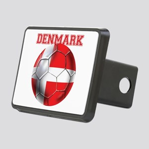 Denmark Soccer Rectangular Hitch Cover