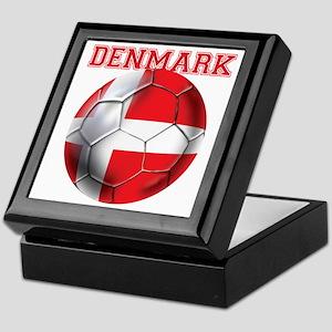 Denmark Soccer Keepsake Box