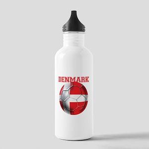 Denmark Soccer Stainless Water Bottle 1.0L