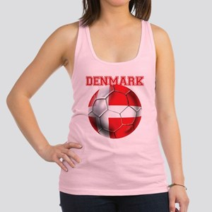 Denmark Soccer Racerback Tank Top
