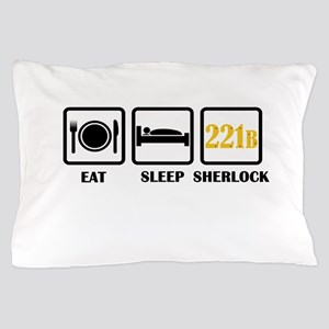 Eat Sleep Sherlock Pillow Case