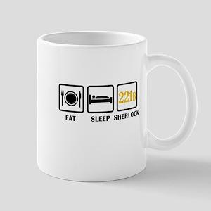 Eat Sleep Sherlock Mugs