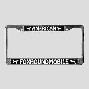 American Foxhoundmobile License Plate Frame