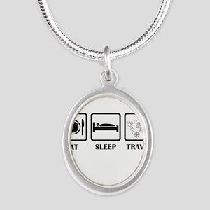Eat Sleep Travel Necklaces