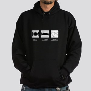 Eat Sleep Travel Hoodie