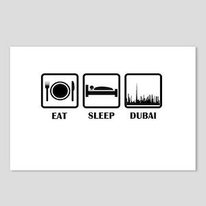 Eat Sleep Dubai Postcards (Package of 8)