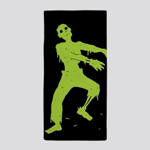 Zombie Beach Towel