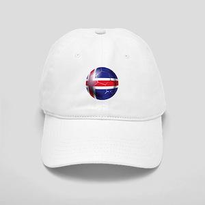 Iceland Soccer Ball Cap