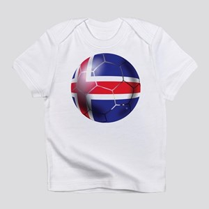 Iceland Soccer Ball Infant T-Shirt