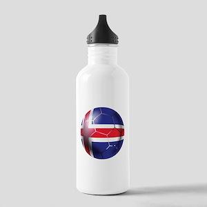 Iceland Soccer Ball Stainless Water Bottle 1.0L