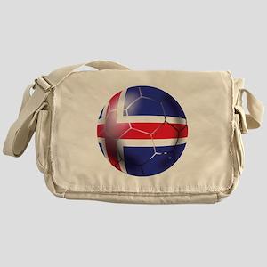 Iceland Soccer Ball Messenger Bag