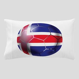 Iceland Soccer Ball Pillow Case
