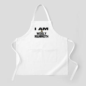 I AM WOOLY MAMMOTH BBQ Apron