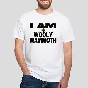 I AM WOOLY MAMMOTH White T-Shirt