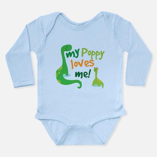 My Poppy Loves Me Long Sleeve Infant Bodysuit