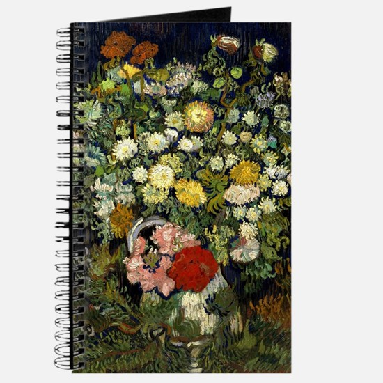 Van Gogh - Bouquet of Flowers in a Vase Journal