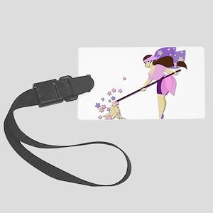 Fairy housekeeper Large Luggage Tag