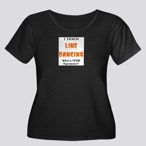 teach line dance Plus Size T-Shirt